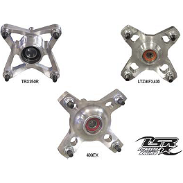 Lonestar Racing Wheel Hubs - Front - 2008 Suzuki LT-R450 Durablue Rear Wheel Hubs 4/110