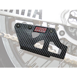 Lightspeed Chain Guide - 2001 Yamaha YZ250F Acerbis Chain Guide Block