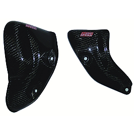 Lightspeed Engine Guard Set - 2005 Honda CRF450R Lightspeed Frame Guards