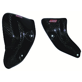 Lightspeed Engine Guard Set - 2008 Kawasaki KX250F Lightspeed Front Disc Guard