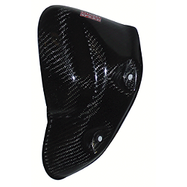 Lightspeed Engine Guard - Right - GYTR LightSpeed Carbon Fiber Right Case Guard