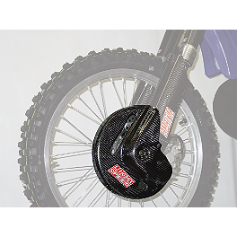 Lightspeed Front Disc Guard - Lightspeed Rear Caliper/Disk Guard Set