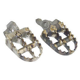 Lightspeed Footpegs - Titanium - 2003 Yamaha YZ250 Sunline Stainless Steel Arch Footpegs
