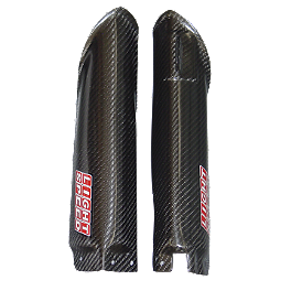 Lightspeed Lower Fork Guards - 2009 Kawasaki KX450F Lightspeed Frame Guards