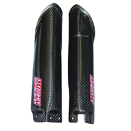 Lightspeed Lower Fork Guards - 2009 Suzuki RMZ450 Lightspeed Frame Guards