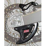 Lightspeed Rear Caliper/Disk Guard Set - Dirt Bike Disc Guards