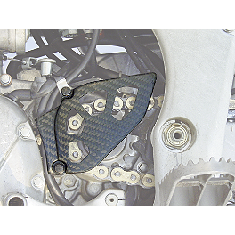 Lightspeed Front Sprocket Cover - 2010 Honda CRF450R Lightspeed Frame Guards