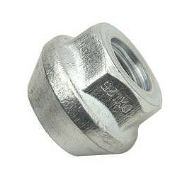 ITP Lug Nut 10mm - Tapered - ITP Lug Nut Set - 10X1.50mm Thread 14mm 60 Degree Tapered Head - Chrome
