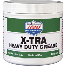Lucas Oil Heavy Duty Grease - Lucas Oil Red 'N' Tacky Grease