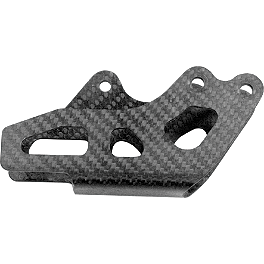 Leo Vince Carbon Fiber Chain Guide - 2011 Yamaha WR250F Leo Vince X3 Ti-Tech Enduro Full-System - Stainless/Titanium With Carbon Fiber End Cap
