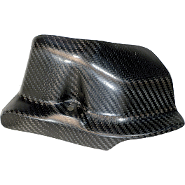 Leo Vince Carbon Fiber Engine Guard - Left - 2007 Honda CRF250X Leo Vince X3 Ti-Tech Enduro Full-System - Stainless/Titanium With Carbon Fiber End Cap