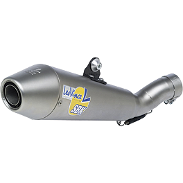 Leo Vince SBK GP Style Evo II Slip-On - Stainless Steel - Vance & Hines CS One Slip-On Exhaust - Black
