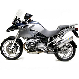 Leo Vince SBK Oval Evo II Slip-On - Aluminum With Conical End Cap - 2005 BMW R 1200 GS Leo Vince SBK Oval Evo II Slip-On - Aluminum With Conical End Cap