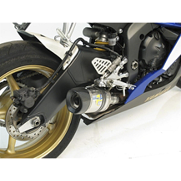 Leo Vince SBK Factory Evo II Slip-On - Carbon Fiber With New Carbon Fiber End Cap - Akrapovic Slip-On Conical Exhaust - Titanium