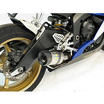Leo Vince SBK Factory Evo II Slip-On - Carbon Fiber With New Carbon Fiber End Cap - Leo Vince Motorcycle Slip Ons