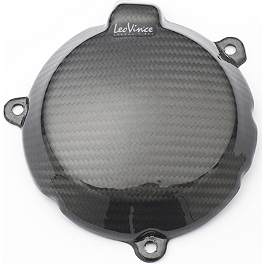 Leo Vince SBK Carbon Fiber Alternator Cover - 2012 Kawasaki ZX1000 - Ninja ZX-10R ABS Leo Vince SBK Carbon Fiber Alternator Cover