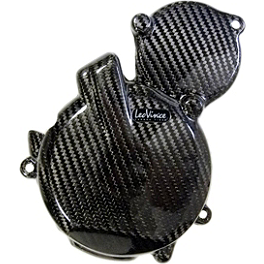 Leo Vince SBK Carbon Fiber Alternator Cover - 2012 Suzuki GSX-R 600 Leo Vince SBK Carbon Fiber Alternator Cover