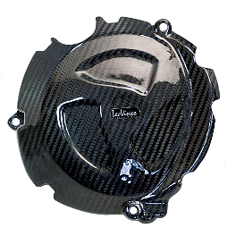 Leo Vince SBK Carbon Fiber Clutch Cover - 2012 BMW S1000RR Leo Vince SBK Carbon Fiber Ignition Timing Cover