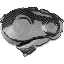 Leo Vince SBK Carbon Fiber Clutch And Ignition Timing Cover - 2009 Suzuki GSX-R 1000 Leo Vince SBK Carbon Fiber Alternator Cover