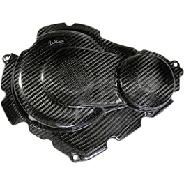 Leo Vince SBK Carbon Fiber Clutch And Ignition Timing Cover - 2012 Suzuki GSX-R 600 Leo Vince SBK Carbon Fiber Alternator Cover