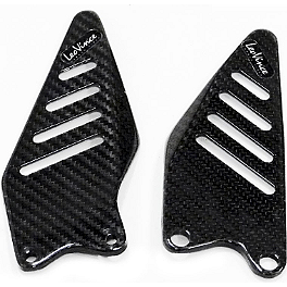 Leo Vince SBK Carbon Fiber Foot Rest Guards - 2012 Kawasaki ZX600 - Ninja ZX-6R Leo Vince SBK Carbon Fiber Alternator Cover
