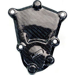 Leo Vince SBK Carbon Fiber Ignition Timing Cover - 2012 BMW S1000RR Leo Vince SBK Carbon Fiber Alternator Cover