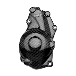 Leo Vince SBK Carbon Fiber Ignition Timing Cover - Cox Racing Group Radiator And Oil Cooler Guard