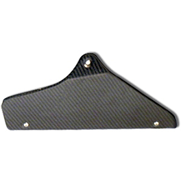 Leo Vince Stock Kat Carbon Fiber Heat Shield - Leo Vince Carbon Fiber Heat Shield For Link Pipe
