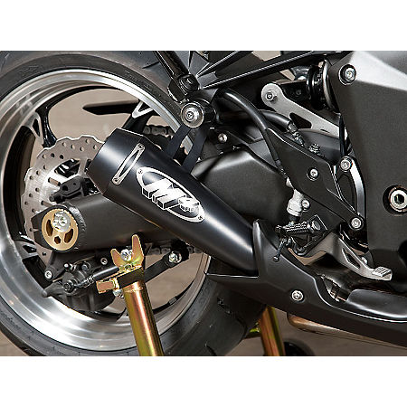 M4 GP Series Slip-On Exhaust - Black - Main