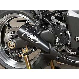 M4 GP Series Slip-On Exhaust - Black - 2010 Kawasaki ZR1000 - Z1000 M4 GP Series Slip-On Exhaust - Black