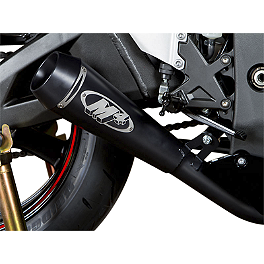 M4 GP Series Slip-On Exhaust - Black - 2012 Kawasaki ZX1000 - Ninja ZX-10R M4 GP Series Slip-On Exhaust - Black