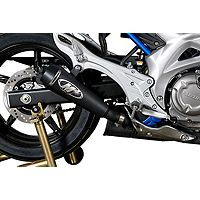 M4 GP Series Slip-On Exhaust - Black