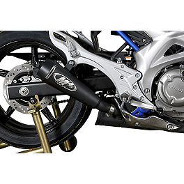 M4 GP Series Slip-On Exhaust - Black - 2009 Suzuki SFV650 - Gladius M4 GP Series Slip-On Exhaust - Black