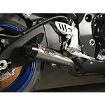 M4 GP Series Slip-On Exhaust - Titanium - M4 Performance Exhaust Motorcycle Slip Ons