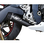 M4 GP Series Titanium Full System Exhaust - Black -  Motorcycle Full Exhaust Systems