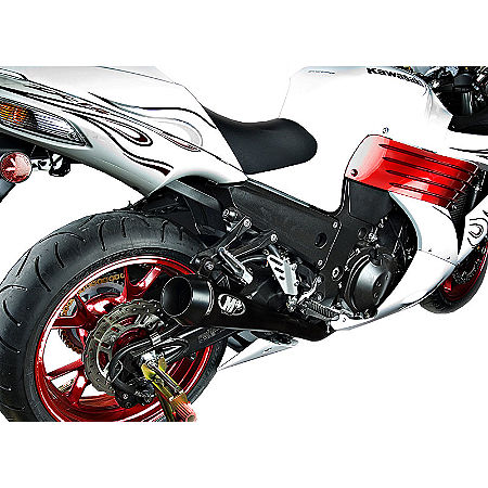 M4 Retro Drag Dual Slip-On Exhaust - Main