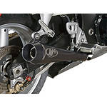 M4 Retro Drag Dual Slip-On Exhaust - Slip On Motorcycle Exhaust Systems