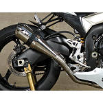 M4 Supersport Series Slip-On Exhaust - Polished - Slip On Motorcycle Exhaust Systems