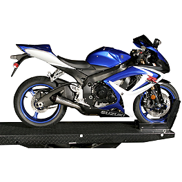 M4 GP Series Slip-On Exhaust - Titanium - 2007 Suzuki GSX-R 750 Yoshimura R-55 Slip-On Exhaust - Stainless Steel