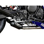M4 Standard Full System Exhaust - Black - M4 Performance Exhaust Dirt Bike Full Systems