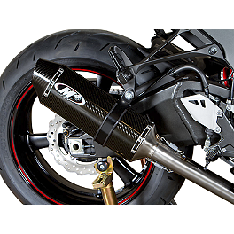 M4 Standard Slip-On Exhaust - Carbon - 2011 Kawasaki ZX1000 - Ninja ZX-10R M4 GP Series Slip-On Exhaust - Black