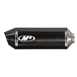 M4 Standard Slip-On Exhaust - Carbon - M4 Standard Slip-On Exhaust - Polished
