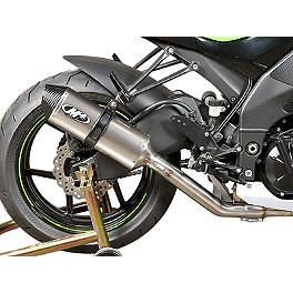 M4 Standard Slip-On Exhaust - Titanium - 2009 Kawasaki ZX1000 - Ninja ZX-10R M4 GP Series Slip-On Exhaust - Black