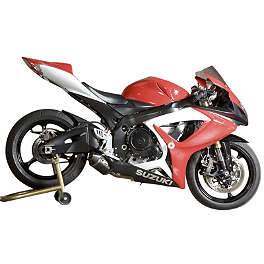 M4 Street Slayer Slip-On Exhaust - Carbon - 2006 Suzuki GSX-R 600 M4 GP Series Slip-On Exhaust - Titanium