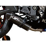 M4 Street Slayer Slip-On Exhaust - Carbon - M4 Performance Exhaust Dirt Bike Motorcycle Parts