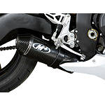 M4 Street Slayer Slip-On Exhaust - Carbon Single