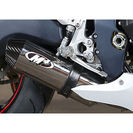 M4 Street Slayer Full System Exhaust - Polished - Main