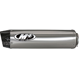 M4 Undertail Slip-On Exhaust - Titanium - Jardine RT-1 Slip-On Aluminum Exhaust