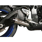 M4 Standard Full System Exhaust - Titanium With Titanium Mid Pipe - M4 Exhaust For Motorcycles