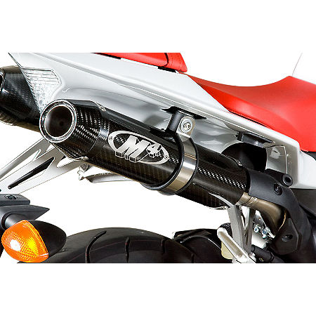 M4 Undertail Slip-On Exhaust - Carbon - Main